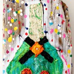 Charlotte_Olsson_Art_Konst_ champagne_painting_colorful_upcyclingart_happy