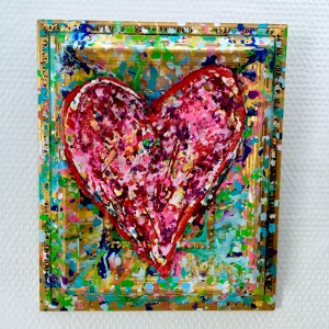 Charlotte_Olsson_Art_Konst_ heart_painting_interior_colorful