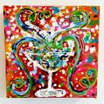 Charlotte_Olsson_Art_champagne_glass_colors_konst