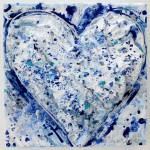 Charlotte_Olsson_Art_heart_blu_recycling_love_konst
