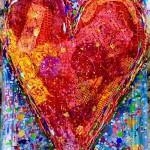 Charlotte_Olsson_Art_heart_recuclingart_upcyclingart_love_colors_interior_painting