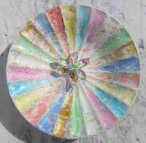 """Happy Carneval Colors"" Diameter 29 cm"
