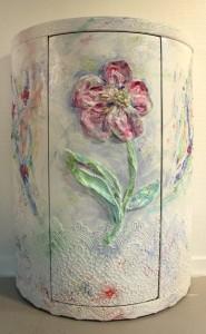 Bar art flower
