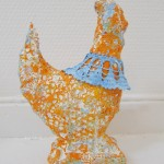 hen sculpture