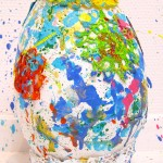 colorful egg sculpture