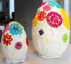 egg sculpture