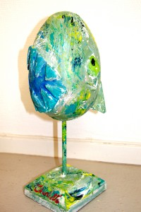 colorful sculptures