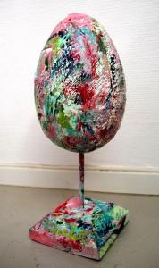 colorful sculptures