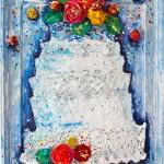 """Heavenly Spirited"" 38 x 49 cm"