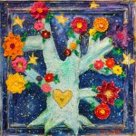 """Midnight Love"" 122 x 122 cm"